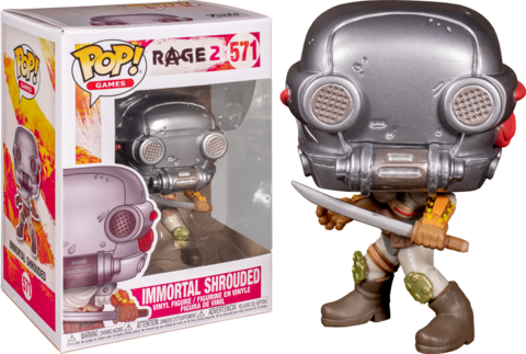 Фигурка Funko Pop! Games: Rage 2 - Immortal Shrouded