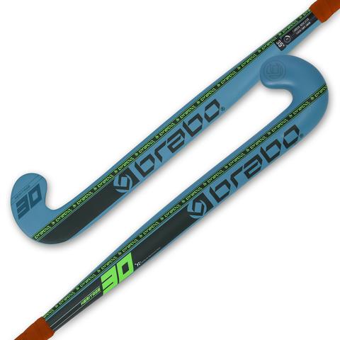 Клюшка для хоккея на траве BRABO G-Force Heritage 30 Petrol/Lime