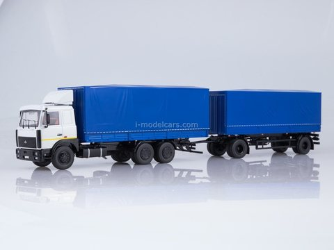MAZ-6303 with trailer MAZ-83781 1:43 Start Scale Models (SSM)