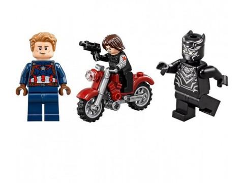 LEGO Super Heroes: Преследование Черной Пантеры 76047 — Black Panther Pursuit — Лего Супергерои Marvel Марвел DC Comics комиксы