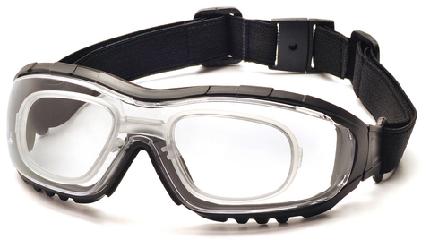 Очки баллистические стрелковые Pyramex V3G GB8210STRX Anti-fog Diopter прозрачные 96%