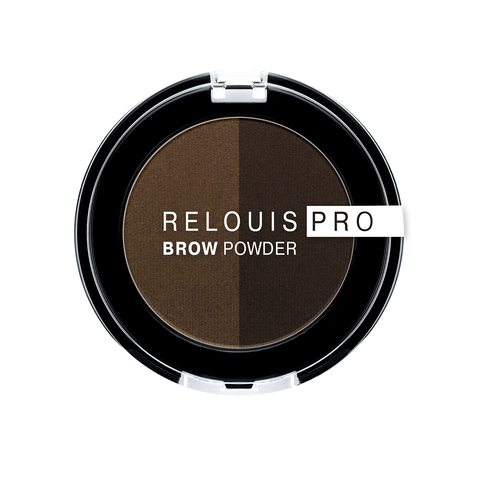 Relouis Relouis Pro Тени для бровей Brow Powder тон 03 Dark Brown