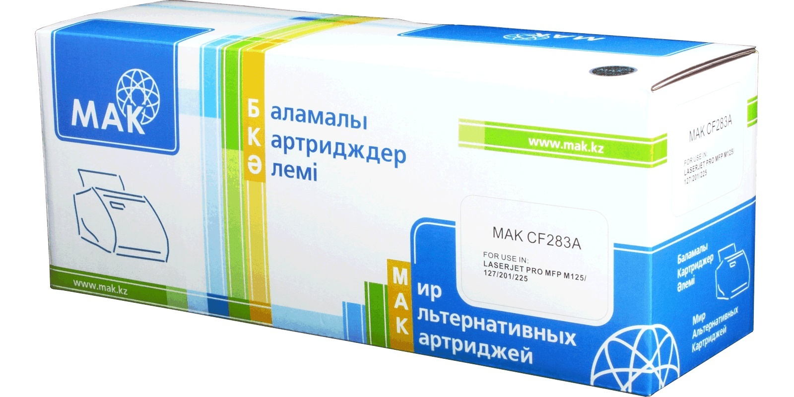 MAK №83A CF283A/(Cartridge 737), черный, для HP/Canon, до 1500 стр.