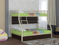 Кровать двухъярусная Гранада 1 с полкой и ящиком