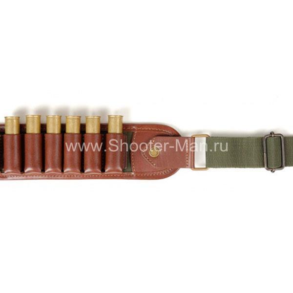 Патронташ 12 - 16 - 20 калибр Стич Профи артикул 1611 фото