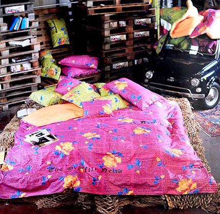 Постельное Постельное белье 1.5 спальное Besana Gossip Rose фуксия komplekt-postelnogo-belya-gossiprose-ot-carrara.jpg