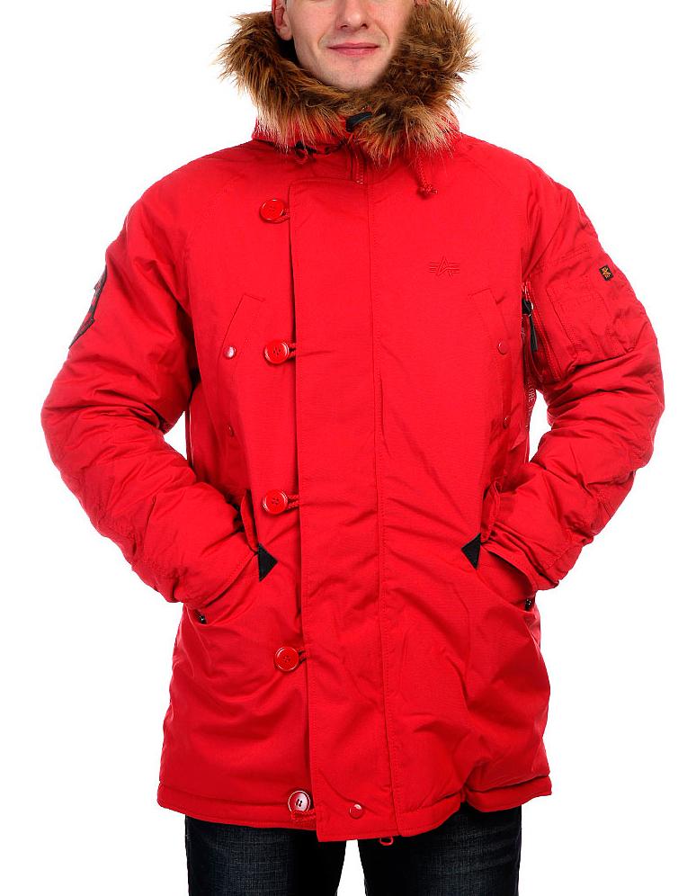 Куртка Аляска Зимняя - Explorer (красный - red)