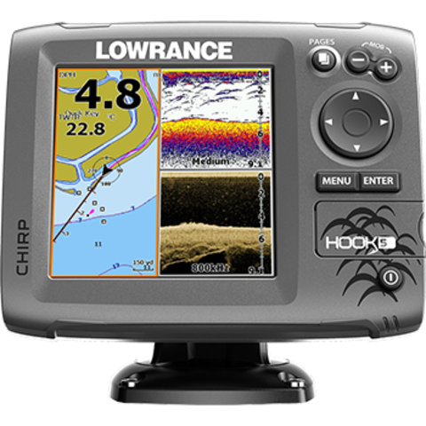 Lowrance Hook-5 Med/High/DownScan