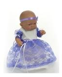 Платье из гипюра - На кукле. Одежда для кукол, пупсов и мягких игрушек.
