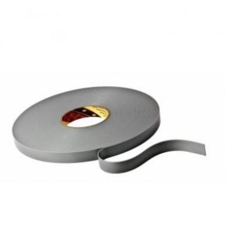 Скотч двусторонний 3М 4943F, светло-серый, вспененный, акрилатный, толщина - 1,1 мм