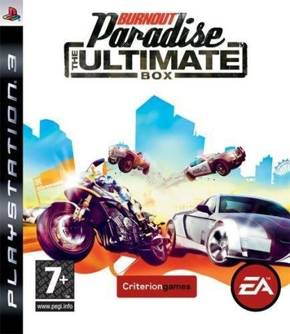 PS3 Burnout Paradise - The Ultimate Box (английская версия)