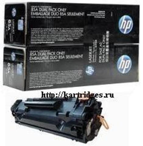 Картридж Hewlett-Packard (HP) CE285AD