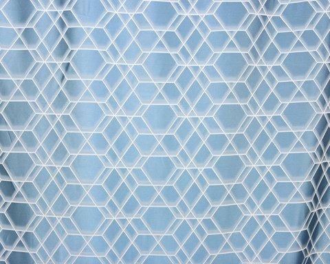 Портьерная ткань Реалити голубой