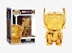 Funko Pop Marvel Studios Series # 381 Gold Thor Bobble-Head Figure in stock