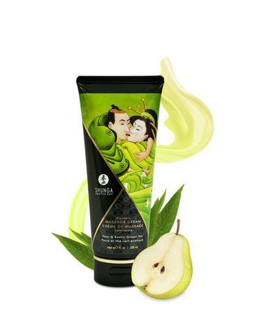 Массажный крем для тела Груша и экзотический зеленый чай серии Необыкновенные поцелуи, 200мл фото