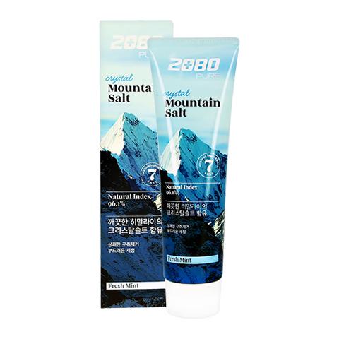Зубная паста Dental Clinic 2080 Pure Mountain Salt Fresh Mint Гималайская соль
