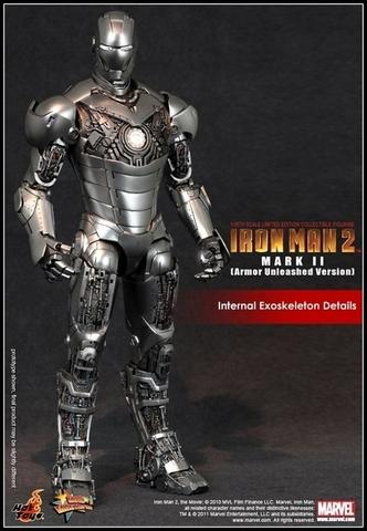 Iron Man 2 Mark II Armor Unleashed Version