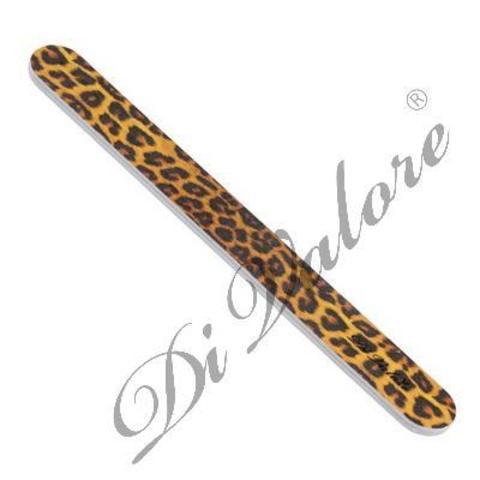 Di Valore Пилка для натуральных ногтей прямая Леопард 108-011#5