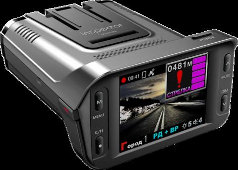 Комбо-устройство (видеорегистратор с радар-детектором и GPS) Inspector Marlin S