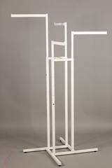 Вешало напольное  4 прямыми лучами (квадратный профиль)