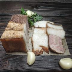 Сало копченое с мясом, кг