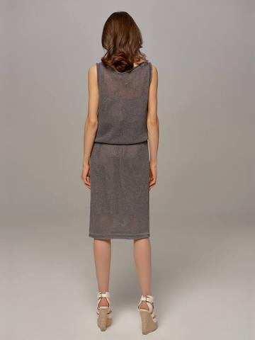 Женское темно-серое платье LE TRICOT - фото 2