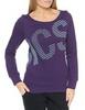 Женская толстовка Asics Graphic Crew (126296 0291) фиолетовая фото