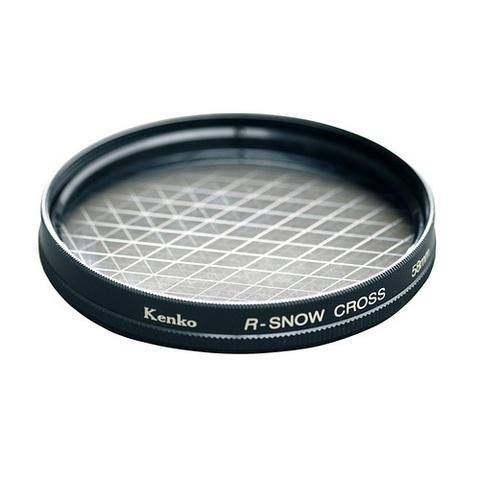 Эффектный фильтр Kenko R-Snow Screen на 55mm (6 лучей)