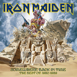 Iron Maiden ‎/ Somewhere Back In Time - The Best Of: 1980-1989 (CD)