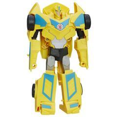 Робот - Трансформер Бамблби (Bumblebee) турбо трансформация - Роботы под прикрытием, Hasbro