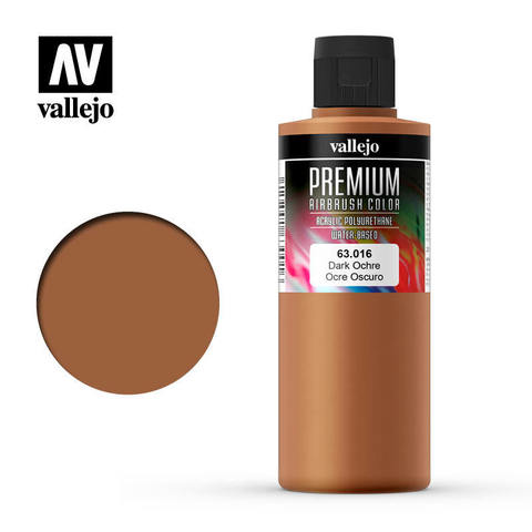 Premium Airbrush Dark Ochre 200 ml.