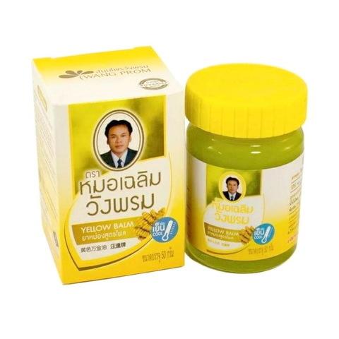 Тайский желтый бальзам WANGPROM HERB. 50 гр.
