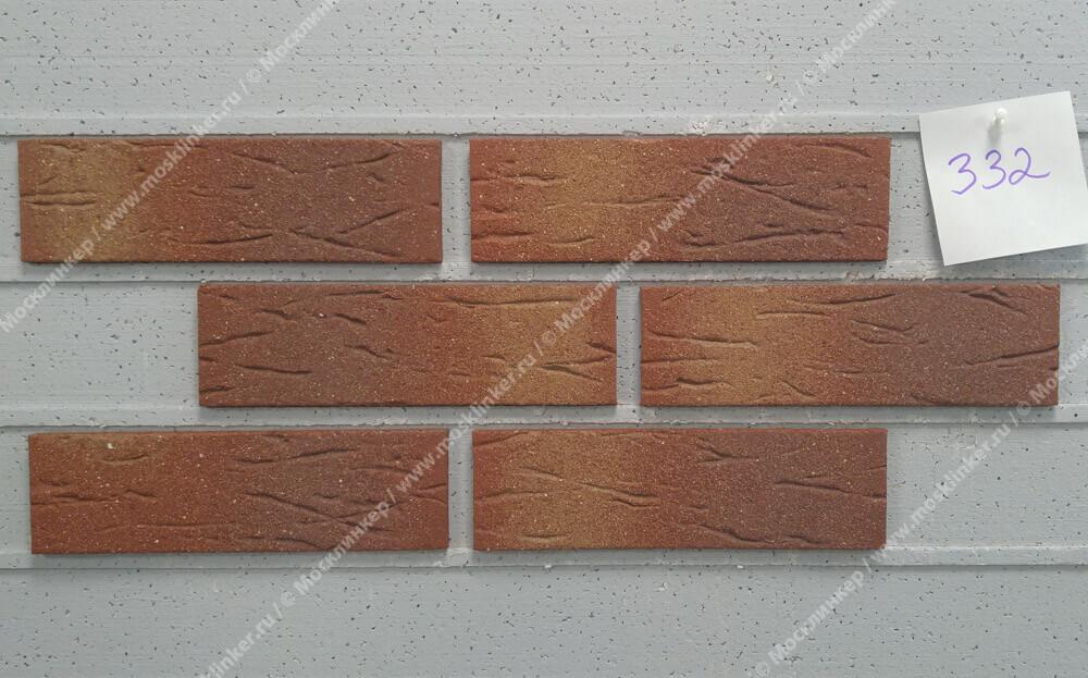 Feldhaus Klinker - R332NF9, Classic Carmesi Multi Mana, 240x9x71 - Клинкерная плитка для фасада и внутренней отделки