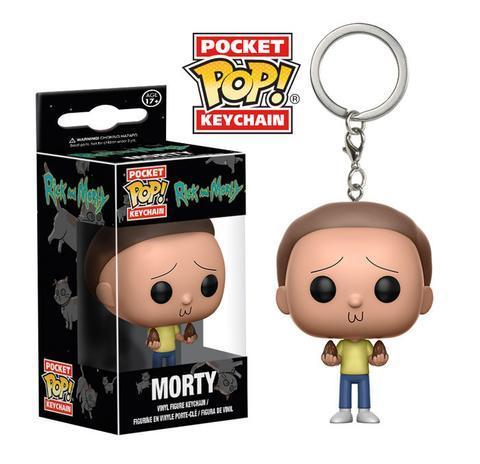 Брелок Funko Pocket POP! Keychain: Rick & Morty: Morty 12919-PDQ