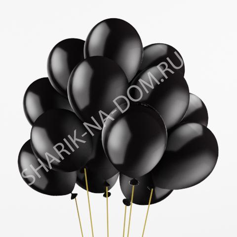 """Шары с гелием на 23 февраля Воздушные шары с гелием """"Черные"""" Чёрные_воздушные_шары.jpg"""