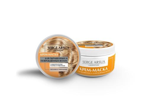 Крем-маска Для окрашеных и поврежденных волос 250 мл НИИ Натуротерапии ТМ Serge Arsua
