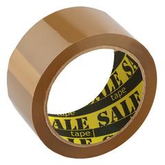 Клейкая лента упаковочная SaleTape 48ммх66мх45мкм,  коричневая,6 шт./уп.
