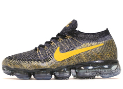 Кроссовки Мужские Nike Air Vapor Max Noir Grey Yellow