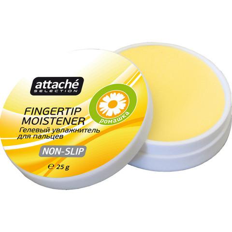 Подушка для смачивания пальцев гелевая гелевая Attache Selection Ромашка, 2