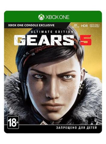 Xbox One Gears 5 Ultimate Edition (русская версия)
