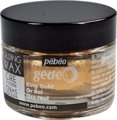 Воск (вакса) для золочения Gedeo 30 мл Цвет Королевское золото