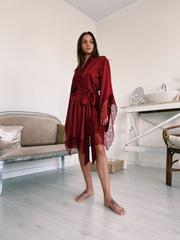 Халат-кимоно Melissa бордовый