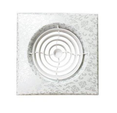 Накладной вентилятор Эра AURA 4C WHITE DESIGN D100 с обратным клапаном
