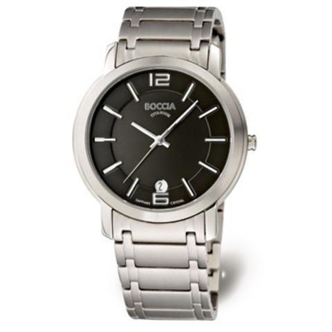 Купить Мужские наручные часы Boccia Titanium 3552-02 по доступной цене