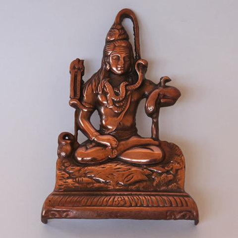 Панно Шива сидящий