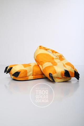 Тапочки Жирафовые
