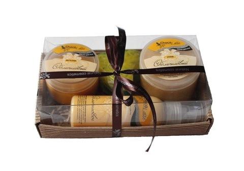 Набор подарочный №1 линия для рук Облепиха (бальзам, смузи, молочко, мыло)/TM ChocoLatte