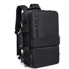 Рюкзак-сумка дорожная для путешествий КАКА 2255 чёрный