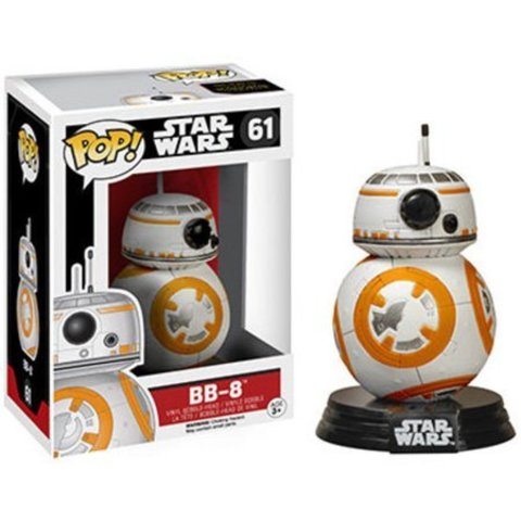 Фигурка Funko POP! Bobble: Star Wars: EP7: BB-8 6218