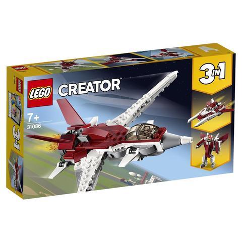 LEGO Creator: Истребитель будущего 31086 — Futuristic Flyer — Лего Креатор Создатель